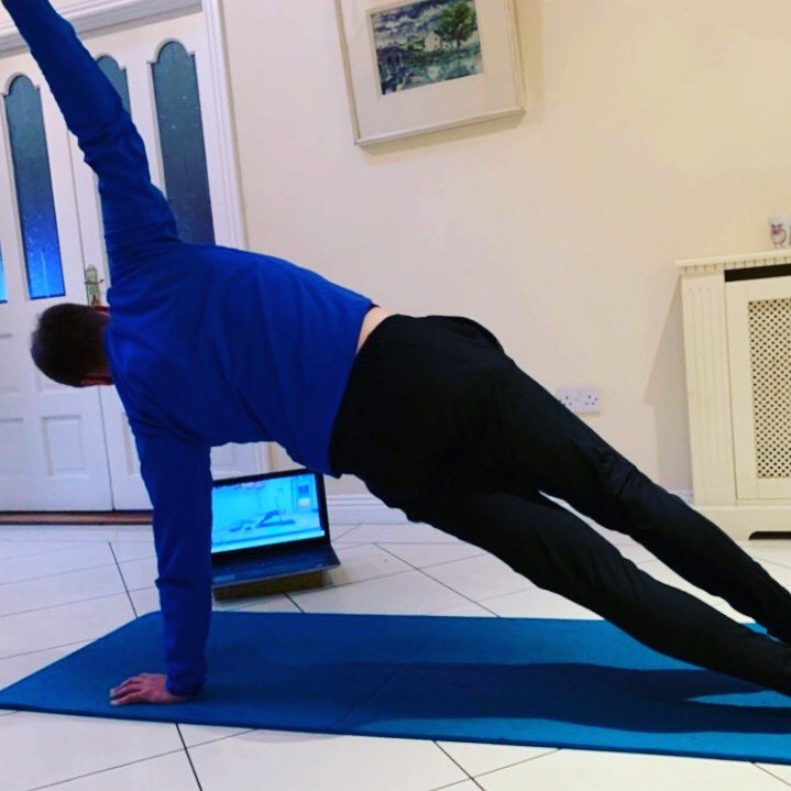 Pilates on line at home