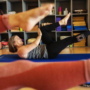 Pilates class at Breathe studio